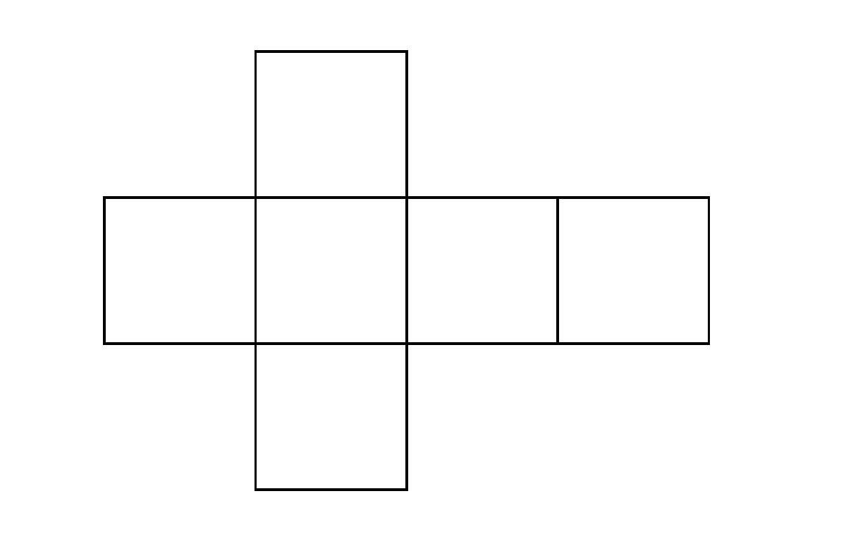 立方体の展開図